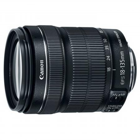 Объектив Canon EF-S 18-135 f/3.5-5.6 IS STM 6097B005AA объектив canon ef s 18 55 mm f 3 5 5 6 is stm kit silver