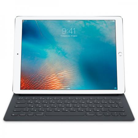 Клавиатура беспроводная Apple Smart Keyboard for 12.9-inch iPad Pro черный MNKT2RS/A forerunner 620 hrm