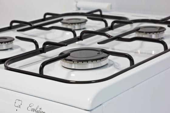 Комбинированная плита De Luxe 5040.21гэ ЧР белый соединитель для шинопроводов т образный правый внутренний 09757 uniel ubx a33 black