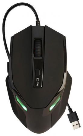Мышь проводная Oklick 835G чёрный USB SM-K9500