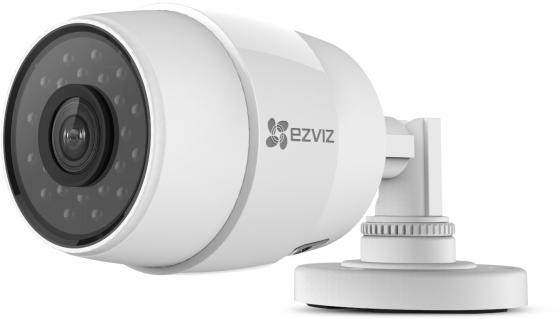Камера IP EZVIZ C3C (WI-FI) CMOS 1/3'' 1280 x 720 H.264 RJ-45 LAN белый CS-CV216-A0-31WFR panarama escam qp130 3d 1 3mp fisheye 1280 1024 h 264 ip camera