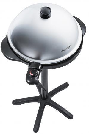 Гриль/барбекю Steba VG 250 BBQ GRILL чёрный серый
