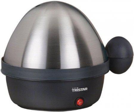 цена Яйцеварка Tristar EK-3076 360 Вт серебристый черный EK-3076