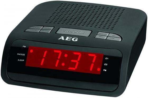 Радиобудильник AEG MRC 4142 schwarz MRC 4142 schwarz aeg mr 4139 bt schwarz bluetooth радиоприемник