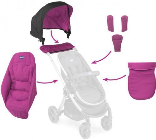 Набор аксессуаров к коляске Chicco Urban (aurora) chicco color pack 06079358990000 07co1403ant набор аксессуаров для коляски urban plus anthracite