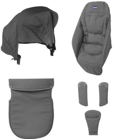 Набор аксессуаров к коляске Chicco Urban (anthracite) комплекты в коляску chicco набор аксессуаров для коляски urban