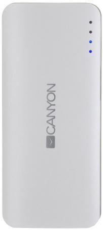 Внешний аккумулятор Power Bank 10000 мАч Canyon CNE-CPB серый все цены