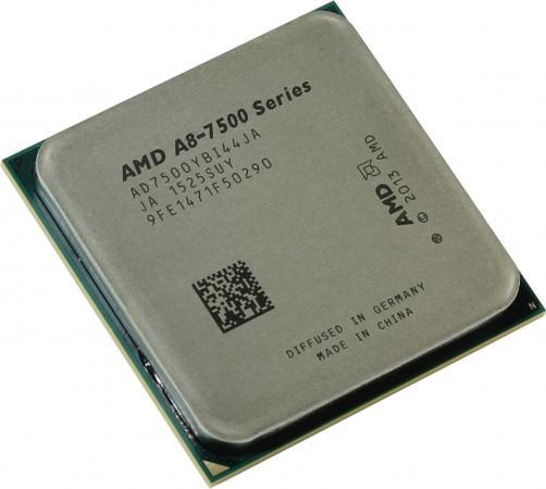 Процессор AMD A8 7500 3.0GHz 2Mb AD7500YBI44JA Socket FM2+ OEM процессор amd x4 fx 4350 socket am3