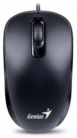 Мышь проводная Genius DX-110 чёрный PS/2 мыши genius проводная оптическая мышь dx 130