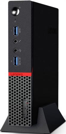 Системный блок Lenovo ThinkCentre M700 Tiny 10J0  i3-6100T 4Gb 500Gb Win10Pro клавиатура мышь 10J0S0KC00 системный блок lenovo s200 mt j3710 4gb 500gb dvd rw dos клавиатура мышь черный 10hq001fru