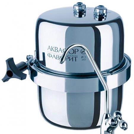Фильтр для воды Аквафор B150 Викинг Мини серебристый водоочиститель аквафор b150 фаворит