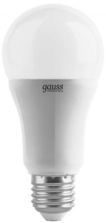 купить Лампа светодиодная шар Gauss LD23212 E27 12W 3000K по цене 110 рублей