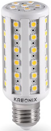 Лампа светодиодная цилиндрическая Kreonix 2022 E27 10W 6500K CORN-10W-E27-54SMD/CW energy efficient 10w e27 3014smd 96led corn bulbs led lamps ac85 265v cold white