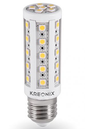 Лампа светодиодная цилиндрическая Kreonix CORN E27 6.5W 3000K CORN-6,5W-E27-36SMD/WW 2015 e27 220v 35w 2800lm 165led 5730sdm white led corn light bulb