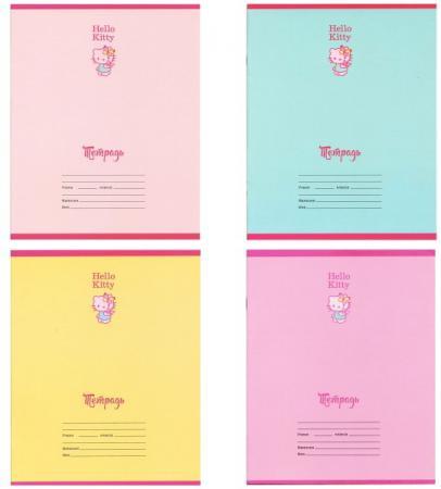 Тетрадь школьная Action! Hello Kitty 12 листов линейка скрепка HKO-AN-1201/1 HKO-AN-1201/1 тетрадь школьная action dc comics 12 листов линейка скрепка dc an 1201 1
