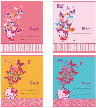 Тетрадь школьная Action! Hello Kitty 12 листов клетка скрепка HKO-AN-1201/5 в ассортименте тетрадь action клетка а5 80 листов в ассортименте