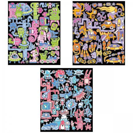 Тетрадь общая Action! ВЕСЕЛЫЕ СНЫ 96 листов клетка скоба AN 9627/5 в ассортименте AN 9627/5 тетрадь action клетка а5 80 листов в ассортименте