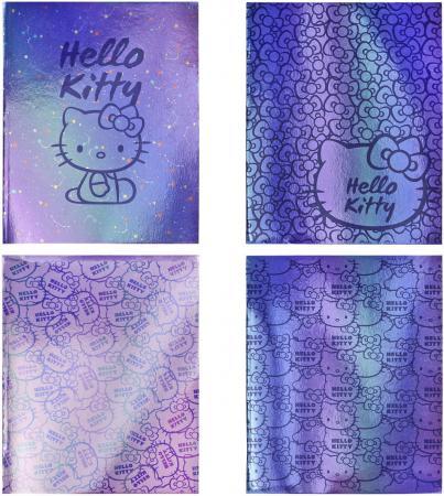 Тетрадь общая Action! Hello Kitty 96 листов клетка скрепка HKO-AN-9601/5 в ассортименте HKO-AN-9601/5 тетрадь общая action черно белый мир 96 листов клетка скрепка an 9625 5 в ассортименте an 9625 5