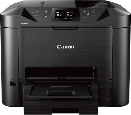 МФУ Canon Maxify MB5440 цветное A4 24/15ppm 600x1200 Duplex Wi-Fi USB черный 0971C007