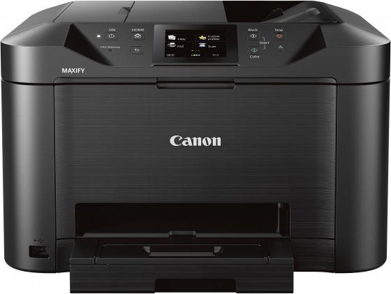 Фото - МФУ Canon Maxify MB5140 цветное A4 24/15ppm 600x1200 Duplex Wi-Fi USB черный 0960C007 meike fc 100 for nikon canon fc 100 macro ring flash light nikon d7100 d7000 d5200 d5100 d5000 d3200 d310