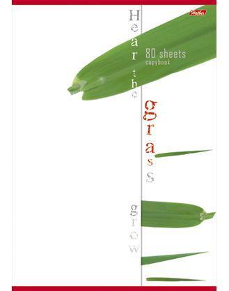 Тетрадь общая Хатбер NATURE 013353 96 листов клетка скоба 96Т4вмВ3/NAT в ассортименте
