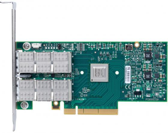 Фото - Сетевой адаптер Mellanox MCX354A-FCCT сетевой адаптер mellanox mcx312c xcct 10 100mbps