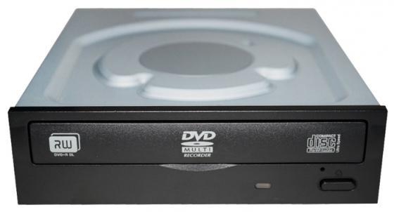 Привод для ПК DVD±RW Lite-On iHAS122-14 SATA черный оптический привод dvd rw lite on ds 8acsh внутренний sata черный oem