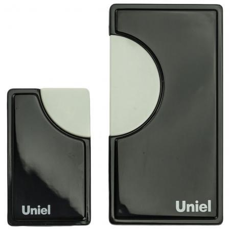 все цены на Звонок дверной беспроводной Uniel черный UDB-002W-R1T1-32S-100M-BL онлайн