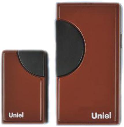 Звонок дверной беспроводной Uniel UDB-002W-R1T1-32S-100M-RD красный 03608