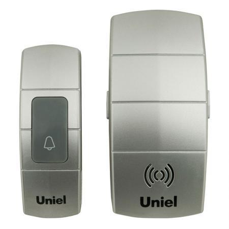 Звонок беспроводной (05465) Uniel UDB-088W-R1T1-32S-100M-SL рекламный щит dz 5 1 j1b 088 jndx 1 s b
