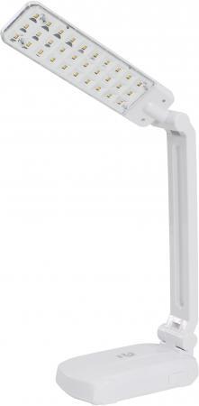Настольная лампа Эра NLED-421 белый лампа настольная эра nled 454 9w bk
