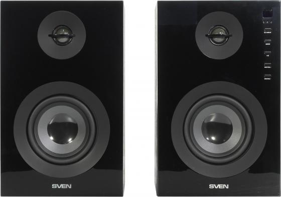 Колонки Sven SPS-721 2x25 Вт черный компьютерная акустика sven sps 721 черный