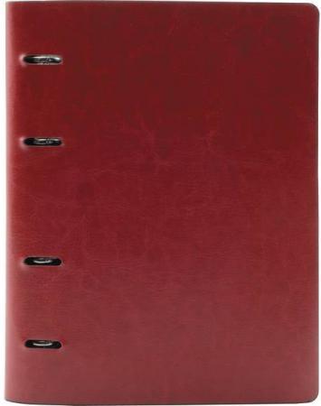Тетрадь офисная Index ICO01/A4/RD 160 листов клетка кольца блокнот index in0101 a460 a4 60 листов в ассортименте
