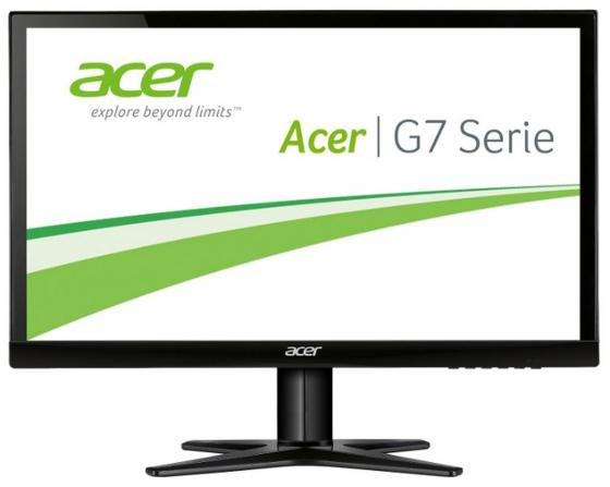 Монитор 23.8 Acer G247HYLbidx черный IPS 1920x1080 250 cd/m^2 4 ms DVI HDMI VGA UM.QG7EE.010 монитор 23 8 acer v246hylbd черный ips 1920x1080 250 cd m^2 6 ms dvi vga um qv6ee 001