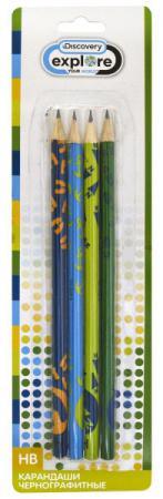 Набор графитовых карандашей Action! Discovery 4 шт DV-ALP185/4 DV-ALP185/4 жаровня scovo сд 013 discovery
