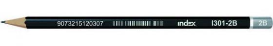 Карандаши чернографитные Index I301-2B 1 шт черный корпус I301-2B свет для улицы ll100 1 2b laitcom