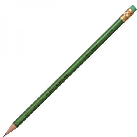 Карандаш чернографитный Koh-i-Noor 1395 лакированный корпус с ластиком 1395 карандаш koh i noor 1380 astra нв с ластиком заточенный