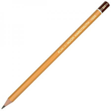 Карандаш чернографитный Koh-i-Noor 1500 3H деревянный лакированный корпус 1500 3H карандаш чернографитный koh i noor кохинор 1500 6н