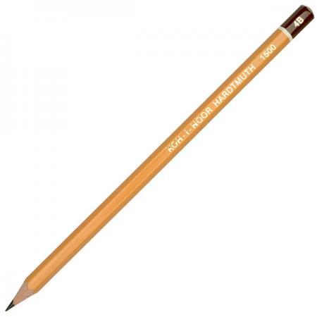 Карандаш чернографитный Koh-i-Noor 1500 4B деревянный лакированный корпус 1500 4B карандаш чернографитный koh i noor кохинор 1500 6н