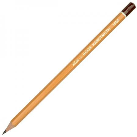Карандаш чернографитный Koh-i-Noor 1500 6B деревянный лакированный корпус 1500 6B