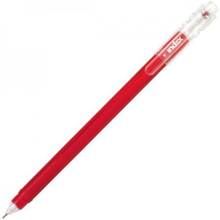 Гелевая ручка Index IGP602/RD красный 0.5 мм  IGP602/RD
