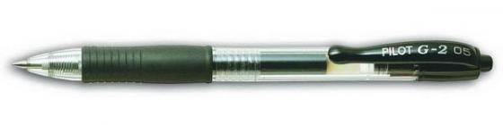 Гелевая ручка автоматическая Pilot G2-5 черный 0.5 мм BL-G2-5-B BL-G2-5-B стоимость