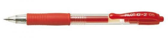 Гелевая ручка автоматическая Pilot G2-5 красный 0.5 мм BL-G2-5-R lego lego star wars 75139 битва на токадана