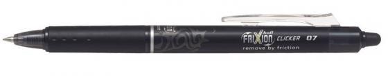 Гелевая ручка автоматическая Pilot Frixion Clicker черный 0.7 мм BLRT-FR-7-B цена