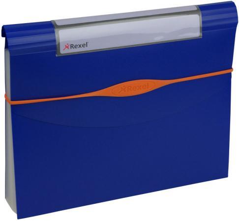все цены на Папка Rexel Optima раздвижная 13 отделений синий 2102484 онлайн
