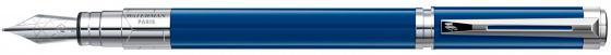 Перьевая ручка Waterman Perspective Blue CT WAT-1904576, перо F перьевая ручка waterman perspective champagne ct перо из нержавеющей стали
