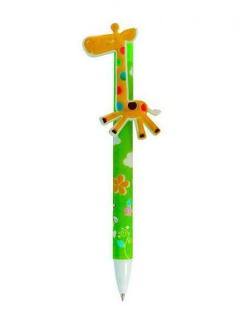 Шариковая ручка Action! FANCY ВЕСЕЛЫЙ ЖИРАФ синий FBP100/1 шариковая ручка автоматическая action fancy разноцветный fbp201 10 8
