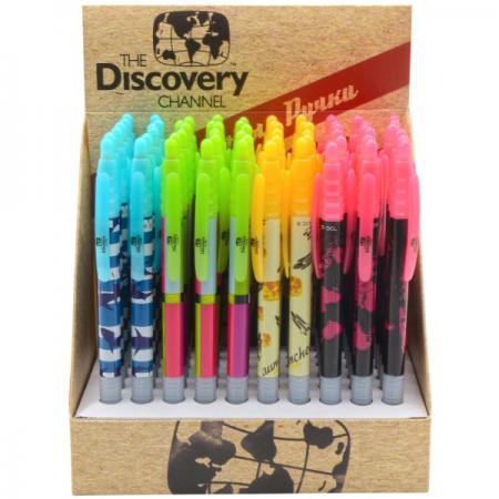 Шариковая ручка автоматическая Action! Discovery 4 шт синий DV-ABP161 в ассортименте DV-ABP161 vektor ec520r