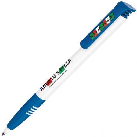 Шариковая ручка автоматическая Senator SUPER-SOFT синий 2274/БСс 2274/БСс шариковая ручка автоматическая senator maxi spring 2164 к 2164 к