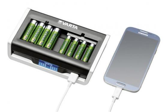 все цены на Зарядное устройство Varta LCD Multi Charger AA/AAA онлайн